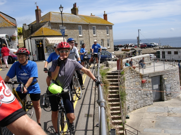 Annie in Mousehole