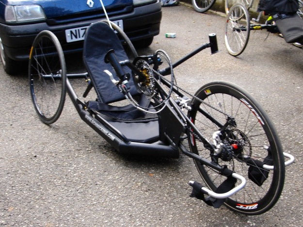 Daves Handcycle Front 2