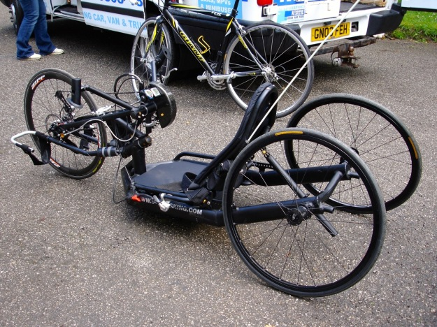 Daves Handcycle Side 2