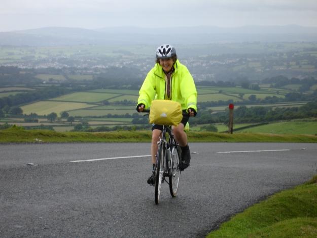 Jay climbing Dartmoor