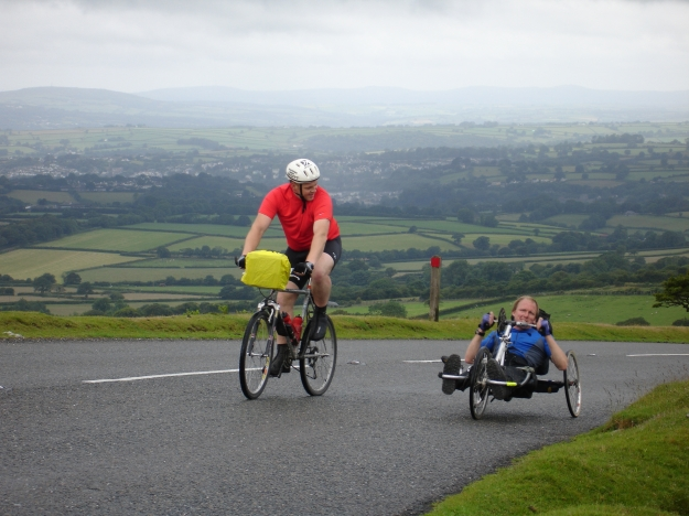 Jim & Adrian climbing Dartmoor
