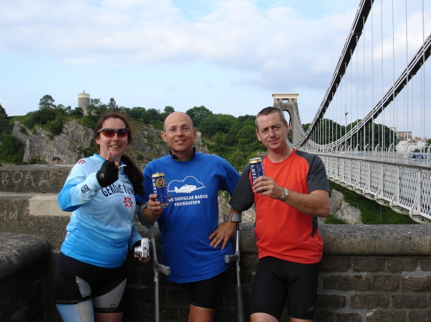 Kiera, Kevin & Rob Clifton Bridge