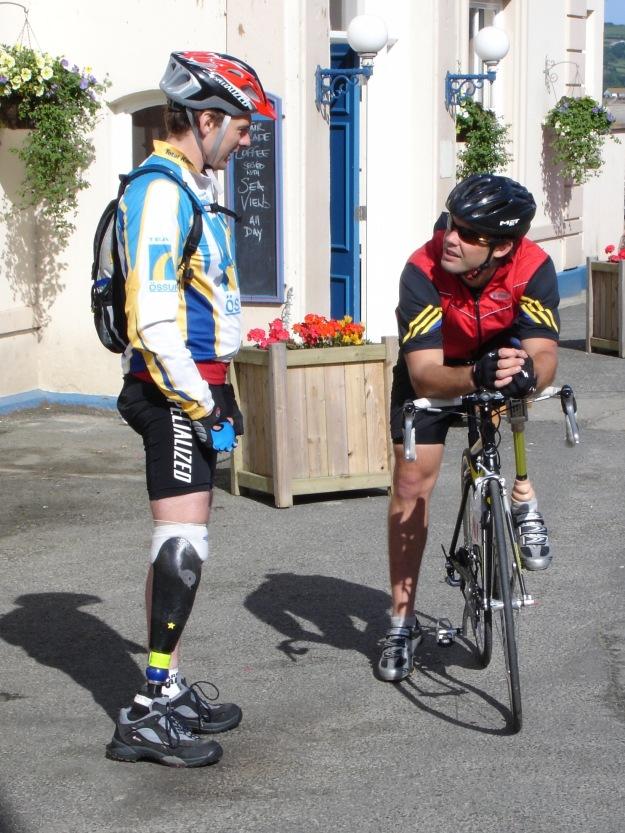Richard & Nathan in Marazion
